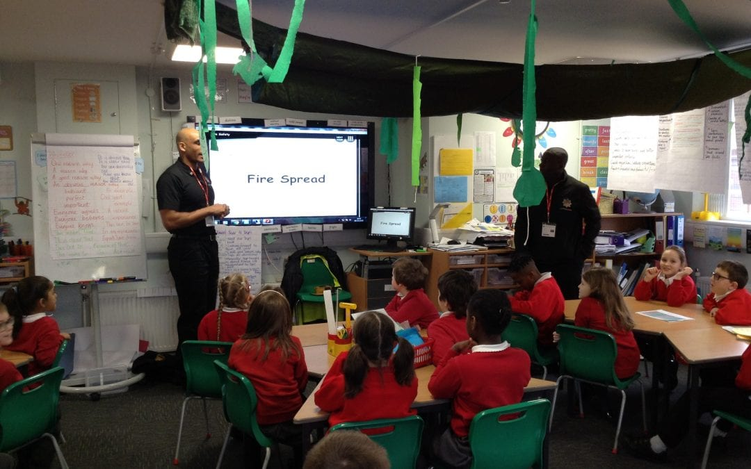 Year 4 SPARK fire safety visit