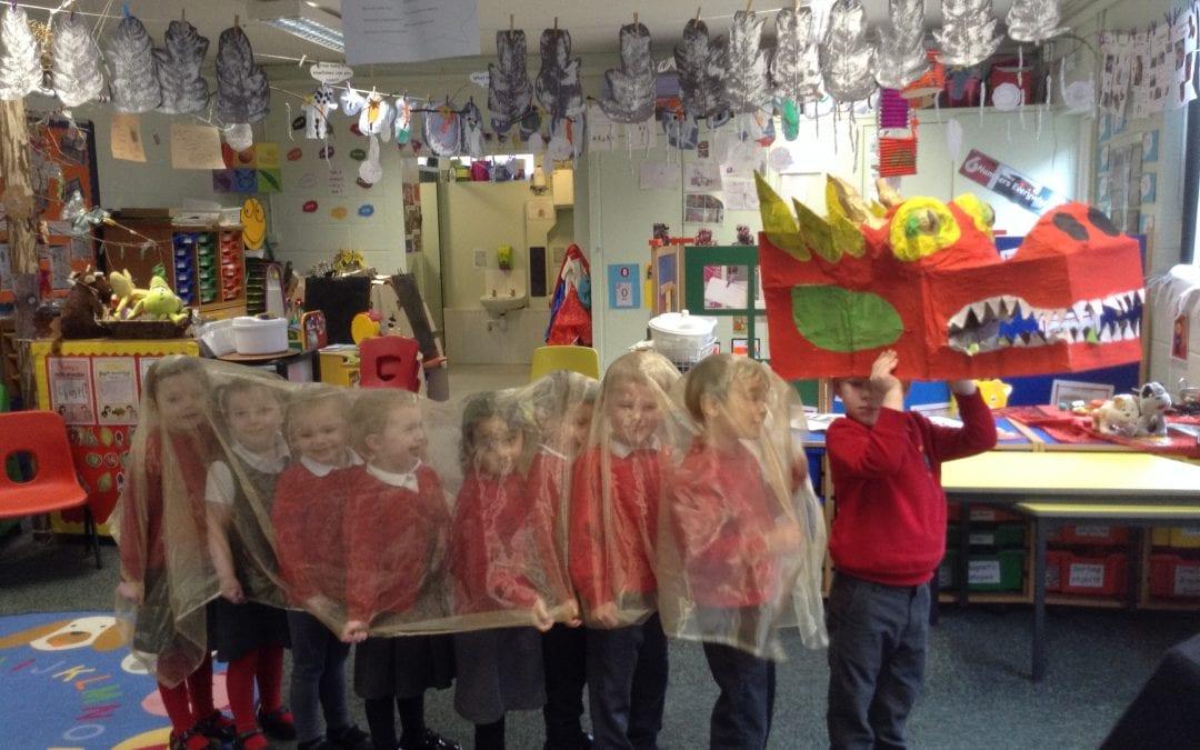 Busy week in Nursery !
