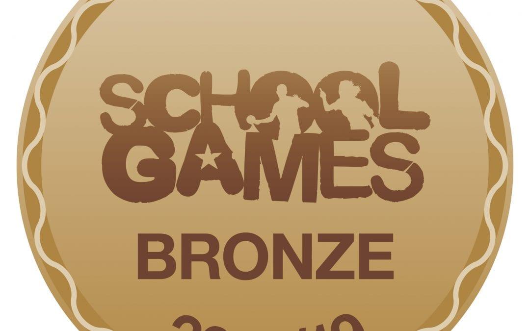 Cotteridge achieves School Games Bronze Award